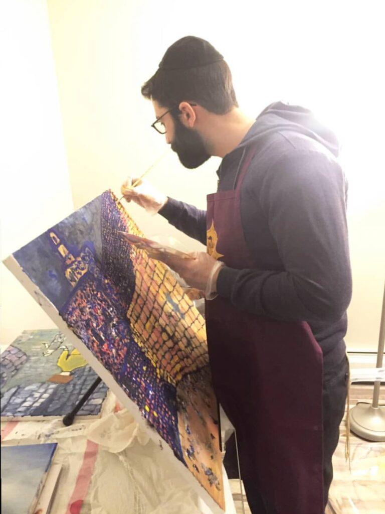 Yitzchak Devor, Fine Art, Fine Artist