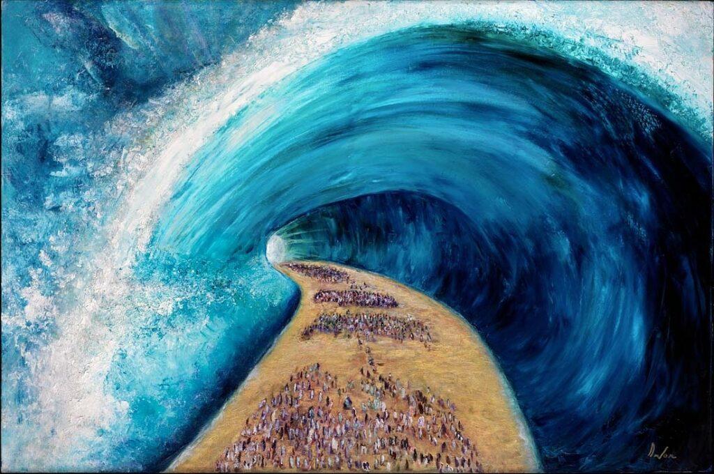 Yitzchak Devor, Moses, Fine Art